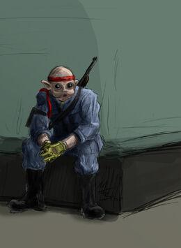 Sullustan Soldier by borkweb