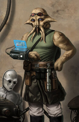 Quarren Jedi Technician