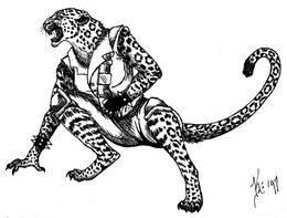 Wereleopard by eclypse110