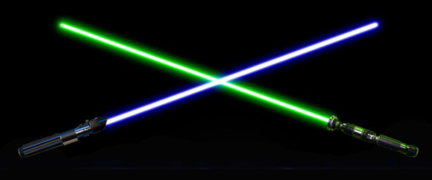 Crossing Lightsabers