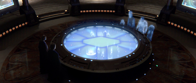 Jedi Temple Situation Room