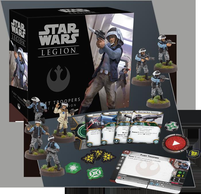 Resultado de imagen para star wars legion fleet troopers