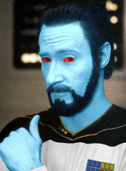 Thrawn with a beard