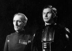 Tarkin and Vader