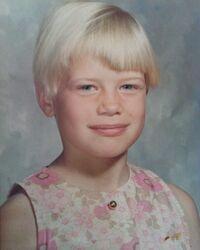 Jan Ors as a kid
