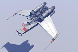 NGR V-Wing Fighter
