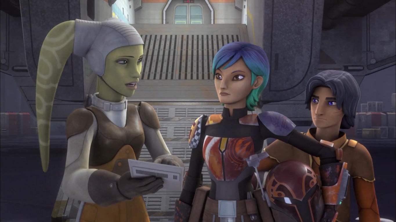 Image - Hera Sabine and Ezra Season2.png | Star Wars ...