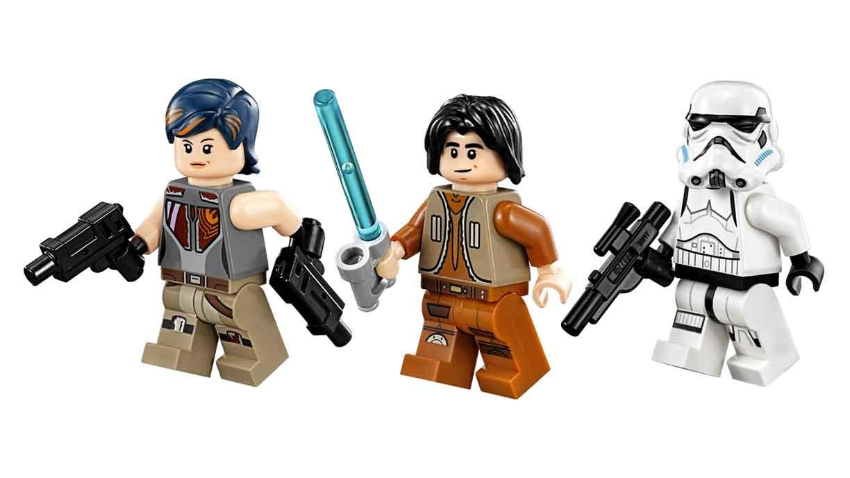 Image - Lego Sabine, Ezra and Stormtrooper.jpg | Star Wars ...