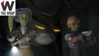 'Star Wars Rebels' Clip Shows Strong Females, Scary Space Monsters