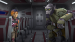 Sabine and Zeb Smile