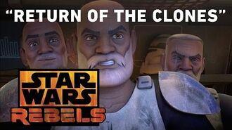 Return of the Clones Star Wars Rebels