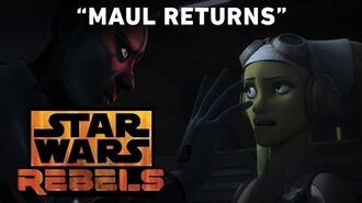 Maul Returns - The Holocrons of Fate Preview Star Wars Rebels