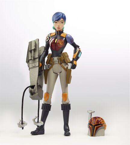 figurine star wars rebels sabine