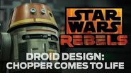 Droid Design Chopper from Star Wars Rebels Comes to Life