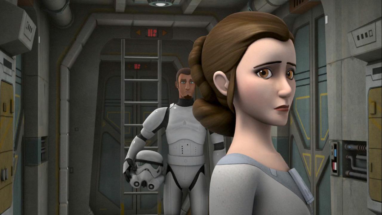 Image - Star Wars Rebels Leia 2.jpg | Star Wars Rebels ... How Old Is Princess Leia In Star Wars Rebels