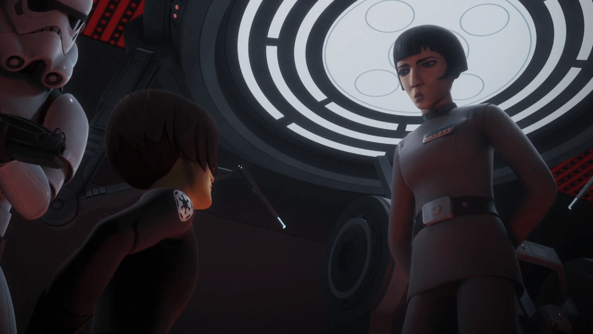 Image result for sabine wren vs. governor pryce