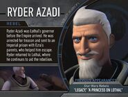 Ryder Azadi Info