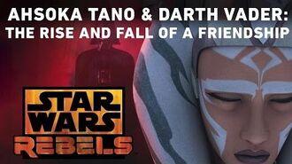 Ahsoka Tano and Darth Vader The Rise and Fall of a Friendship Star Wars Rebels
