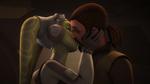 Hera and Kanan kiss