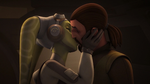 Hera and Kanan kiss