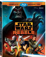 Star Wars Rebels - Complete Season Two Blu-Ray