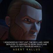 Agent Kallus Quote