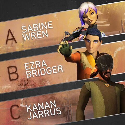 File:New look Kanan,Ezra and Sabine.jpg
