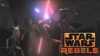 Twilight of the Apprentice Footage - 3rd Inquisitor Revealed! Star Wars Rebels Season 2 Finale