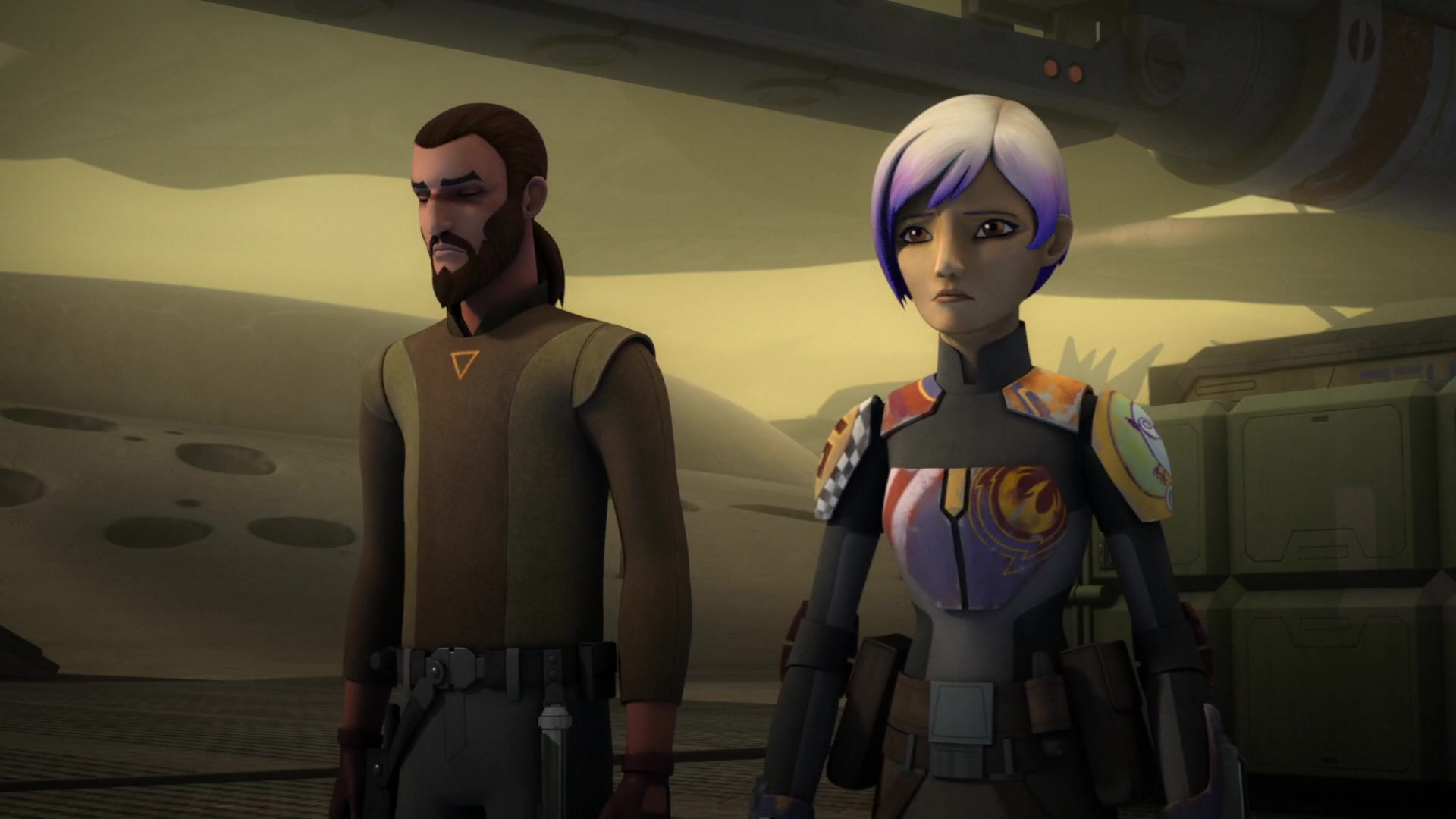 Image result for sabine wren and kanan jarrus