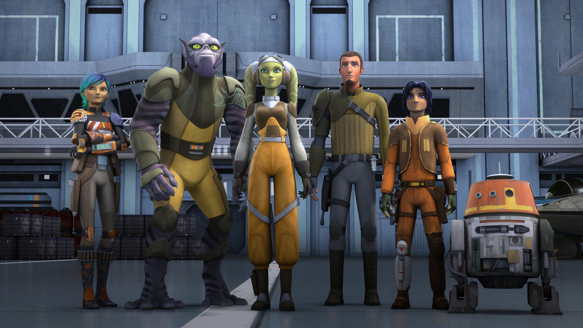 Image result for Rebels crew