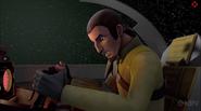 Kanan in the cockpit