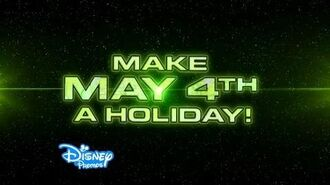 Star Wars Day May the 4th Promo