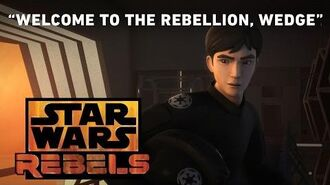 Welcome to the Rebellion, Wedge - The Antilles Extraction Preview Star Wars Rebels