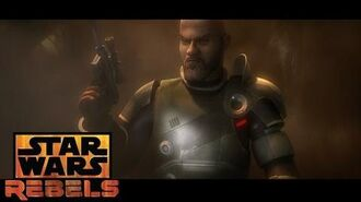 Saw Gerrera Star Wars Rebels Disney XD