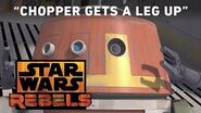 Chopper Gets a Leg Up - The Forgotten Droid Preview Star Wars Rebels