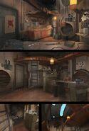 Inside Ezra's Tower