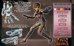 Rebels Character Keys - Sabine Wren
