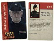 Admiral Titus Card