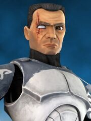 Commander Wolffe without helmet