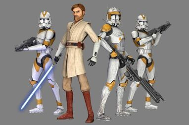 Obi-Wan and the 212th