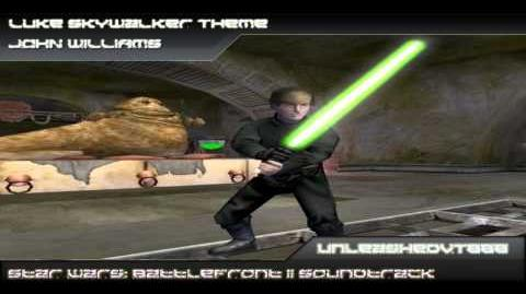 Star Wars Battlefront II Soundtrack - Luke Skywalker Theme