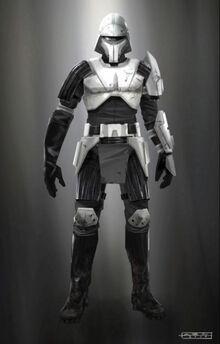 Riot trooper
