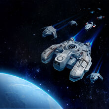 Різноманітні кораблі ЗВВ