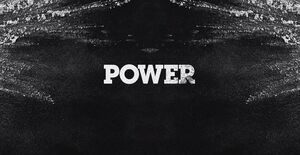 Power title card