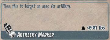 Artillery Marker