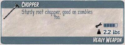 Chopper infocard