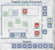 Trumbull County Messezentrum Grundriss