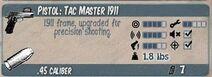 Tac Master 1911