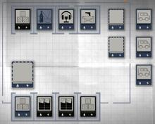 Self storage layout