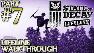 Ⓦ State of Decay Lifeline Walkthrough - Part 7 ▪ Screamer Hunt, Rescuing Hadley Westen